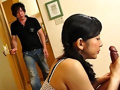 Emiko Koike in Emiko Koike is fucking her step-stepson and his hottest pal - AviDolz