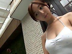 RIHO Summer Calling - Bathing White Swimsuit (Non-Naked)