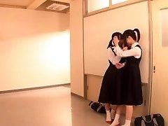 Lezzy Schoolgirl Battle (2 of 3 censored)