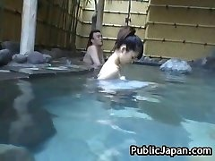Asian babe is a hot gal getting perceived