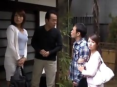Insane Chinese chick Miwako Yamamoto, Misa Yuuki in Exotic Blowjob, Amateur JAV vid