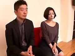 Killer Japanese slut Kanako Iioka, Ria Natsuki, Neo Kazetani in Horny Lingerie, Striptease JAV flick
