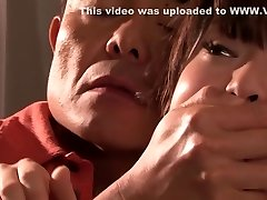 Incredible Japanese cockslut in Jaw-dropping Fetish, Rimming JAV movie