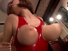 Amazing Japanese model in Exotic HD, Latex JAV gig