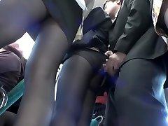 Exotic Japanese slut in Best Public, Voyeur JAV video