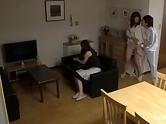 MILF gets porked while her friend tapes it