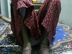 desi telugu indian village couple wife naked drilled on floor