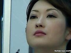 Costume Play Porn: Asians Nurses Cosplay Japanese MILF Nurse Pummeled Doctors Office part 1