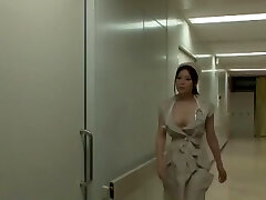 Incredible Japanese dame Yuna Shiina in Amazing Nurse, Big Tits JAV scene