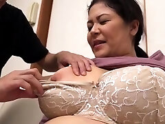 Meaty Boobs Chubby Hairy Mature Has Sex Outdoor