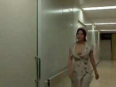Incredible Japanese chick Yuna Shiina in Amazing Nurse, Phat Tits JAV gig