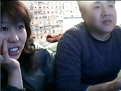 Chinese Couple Sex Life before Webcam