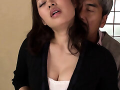 Asian japanese plays with buttfuck toys