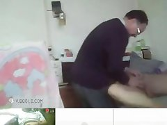 old man chinese fucked by young