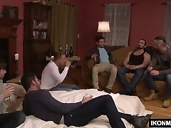 BRANDON WILDE IN HIS First-ever GANGBANG