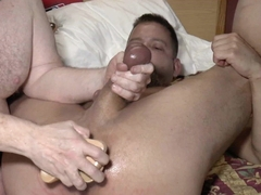 23-May-2019 subcuntboy slit double dildo with CBT