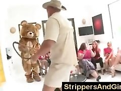 Original Dancing Bear party with stunning women