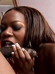 Adrianna Davis Takes On Two Black Dicks
