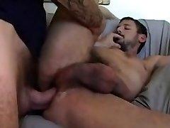 hung Dan Fisk,licks asshole,face pokes then rough breeds bearded bear raw