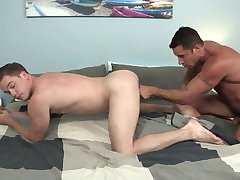 StepSon Bottoms for Hunky New Daddy