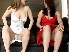 Sexy dress upskirt hotties