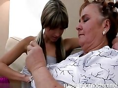Wet babe banged by hard cock