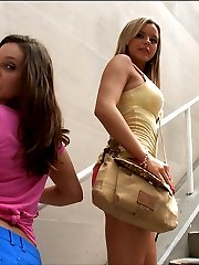 These two honeys are blowin up the porn scene all over the business with Gracie Glam's FAT ass and Bree Olson's Huge Natural tit's were all pretty sure this video is gonna blow mind.