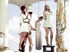 Roman chick hanged
