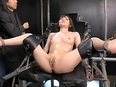 Amazing Chinese cockslut in Crazy HD, BDSM JAV scene