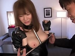 Exotic Asian model in Kinky HD, Latex JAV clip