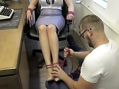 Penny Lee - Teacher Tied and Gauze Ball-gagged HD