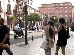 Stunning Spanish slave disgraced outdoor