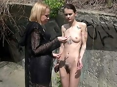Nymph Aurora and Slavegirl Suzi