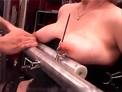 My Sexy Piercings - heavy pierced slave tormented with candle