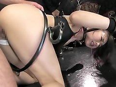 Best Japanese whore in Horny BDSM, Teens JAV pinch