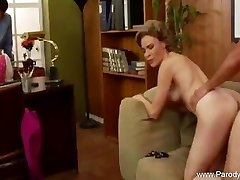 Shag The Retro Milf At The Office