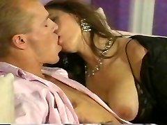 Romantic couple fucking stiff at home