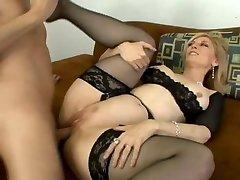 Classic Nina Hartley gets rump fucked