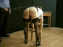 BDSM Vintage Whipping