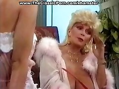 Busty mature classic towheaded star gives a steamy vintage blowjob