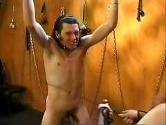 Antique Femdom Olivia Outre with Masculine Slave