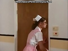 Abnormal nurses Amber Hunt and Nancy Hoffman get fisted and pounded