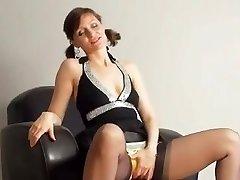 Kirsty Blue Masturbates With Her Panties On
