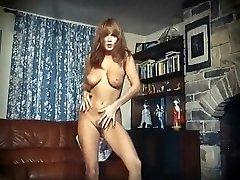 I Enjoy ROCK'N'ROLL - vintage perfect boobs striptease dance