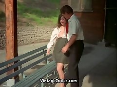 Educator and Student Girl get Sexual Satisfaction (Antique)