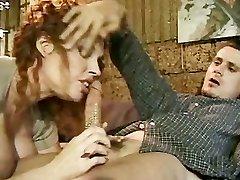 Retor MFF 과 섹시한중년여성 Teddi Barrett 및 소녀와 함께 교정기