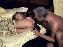 Rita Faltoyano wakes up with finger in her rump