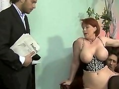 obese german milf threesome