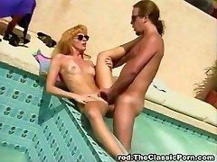 Classic poolside ravaging