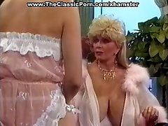 Stunning retro babe super-naughty seduction
